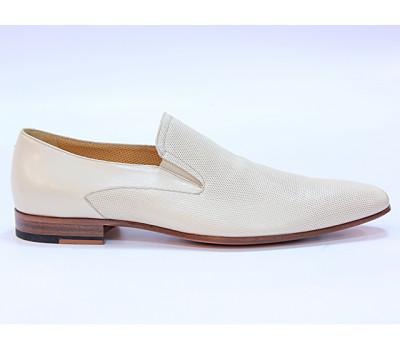 Туфли ROMIT кожаные бежевые 10375