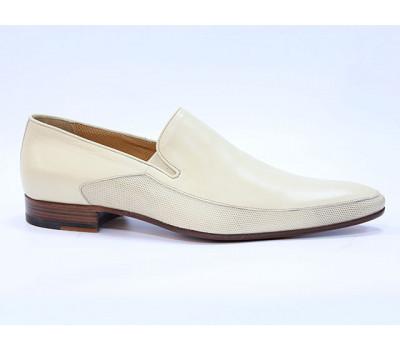 Туфли ROMIT кожаные бежевые 9808