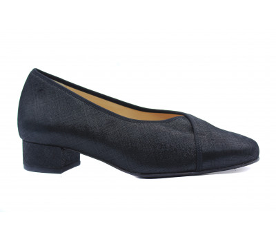 Туфли Hassia черные из крека