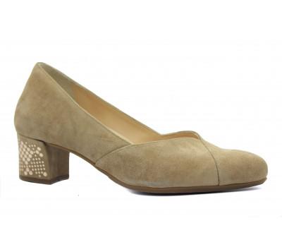 Модельные туфли Hassia замшевые коричневые 5-304932