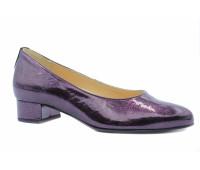Модельные туфли Hassia из лакированной кожи фиолетовые