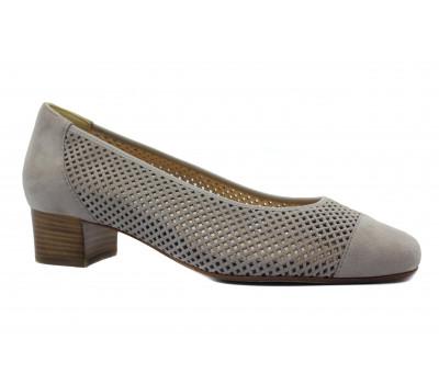 Туфли Hassia серые замшевые 9-303322