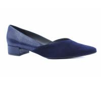 Туфли Peter Kaiser замшевые темно-синие