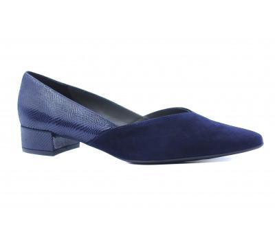 Туфли Peter Kaiser замшевые темно-синие 21403-471
