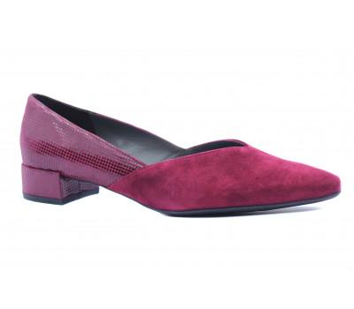 Туфли Peter Kaiser замшевые бордовые 21403-899