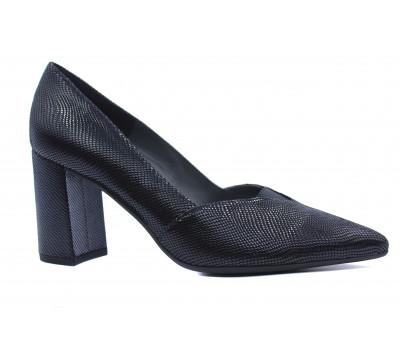 Туфли Peter Kaiser из крека черные 77439-653