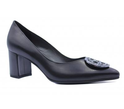 Туфли Peter Kaiser кожаные черные 67471-188