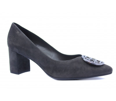 Туфли Peter Kaiser замшевые серые 67471-128