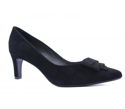Модельные туфли Peter Kaiser замшевые черные 69455-738