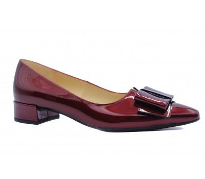 Туфли Peter Kaiser из лакированной кожи бордовые 21237-575