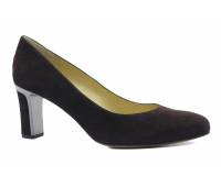 Модельные туфли Peter Kaiser замшевые коричневые