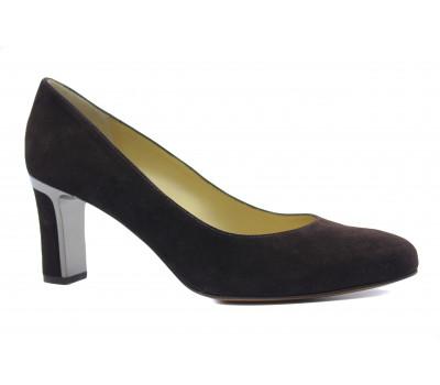 Модельные туфли Peter Kaiser замшевые коричневые 70817-208