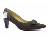 Модельные туфли Peter Kaiser замшевые коричневый