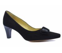 Модельные туфли Peter Kaiser замшевые черные