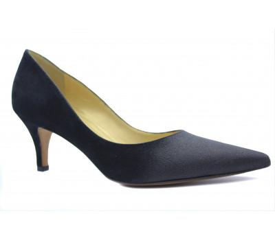 Модельные туфли Peter Kaiser замшевые черные 61101-309