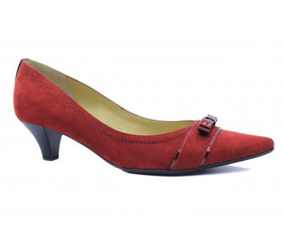 Модельные туфли Peter Kaiser замшевые красные 40843-939