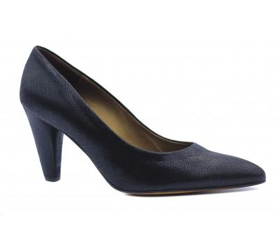 Модельные туфли Peter Kaiser из крека черные 75801-233