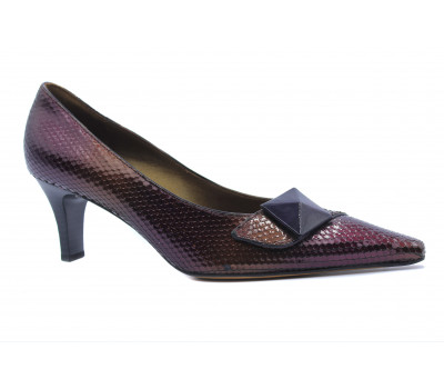 Модельные туфли Peter Kaiser из лакированной кожи комбинированного цвета 67613-774
