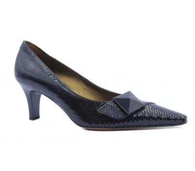 Модельные туфли Peter Kaiser из лакированной кожи черные 67613-865