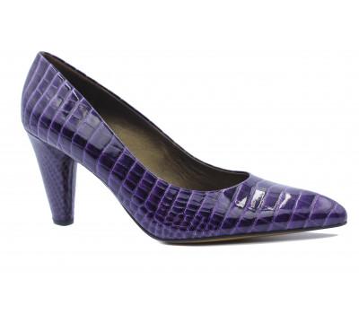 Модельные туфли Peter Kaiser из лакированной кожи фиолетовые 75801-103
