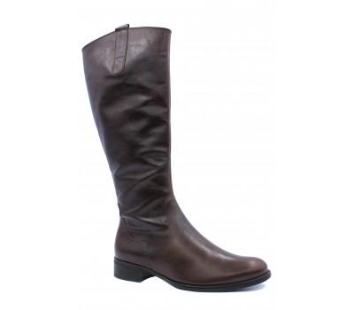 Демисезонные сапоги Gabor кожаные коричневые 71633