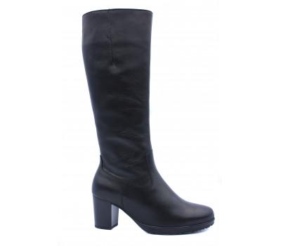 Зимние сапоги Gabor кожаные черные 95549