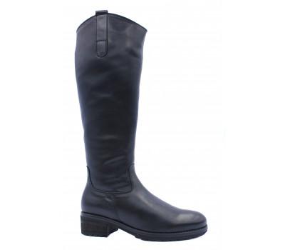 Зимние сапоги Gabor кожаные черные 71616