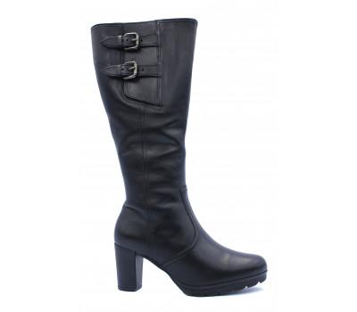 Зимние сапоги Gabor кожаные черные 72887