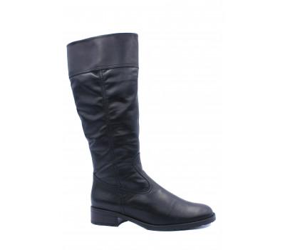 Зимние сапоги Gabor кожаные черные 92775