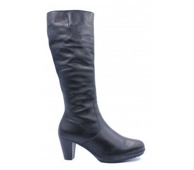 Зимние сапоги Gabor кожаные черные 75799