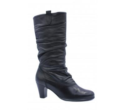 Зимние сапоги Gabor кожаные черные 16591