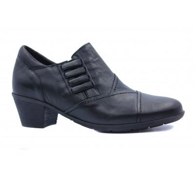 Демисезонные туфли Gabor кожаные черные 34494