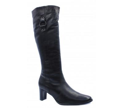 Сапоги зимние Peter Kaiser кожаные черные 92673-450