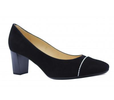 Модельные туфли Peter Kaiser замшевые черные 52521-240