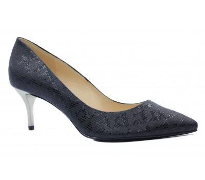 Модельные туфли Peter Kaiser кожаные черные 27501-017