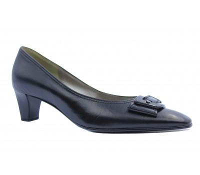 Модельные туфли Gabor кожаные черные 85181