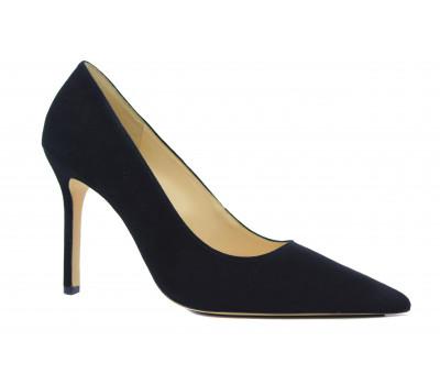 Модельные туфли Hogl замшевые черные 8-108402