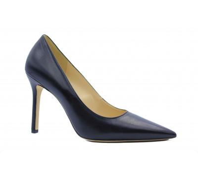 Модельные туфли Hogl кожаные черные 8-108400