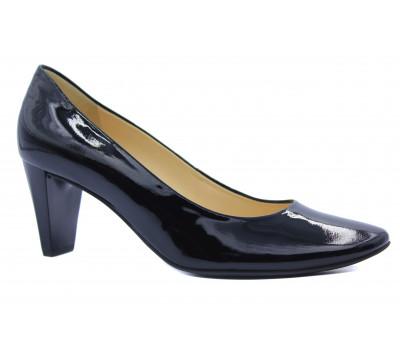 Модельные туфли Hogl из лакированной кожи черные 8-106404