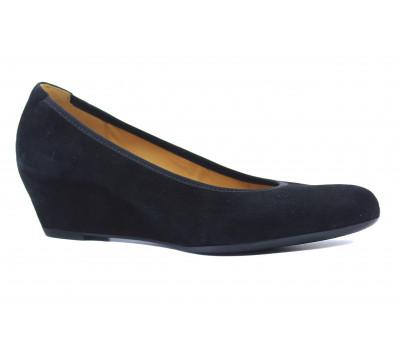 Туфли Gabor замшевые черные 85360