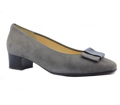 Туфли Hassia серые замшевые 8-303302