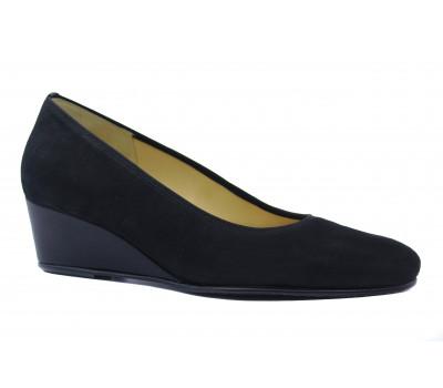 Туфли Hassia замшевые черные 3-304706