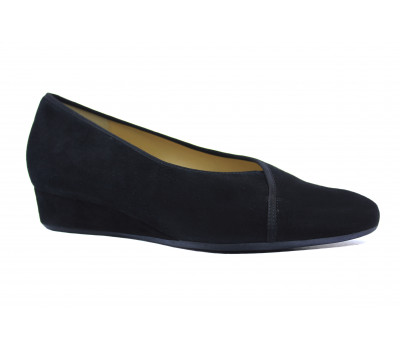 Туфли Hassia черные замшевые 5-303522
