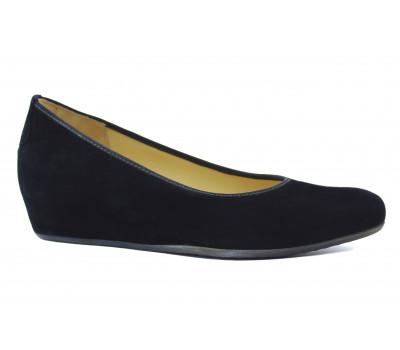 Туфли Hassia замшевые черные 5-302102