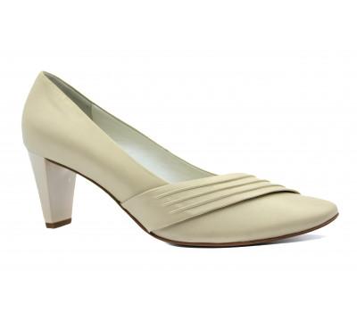 Туфли Hogl кожаные бежевые 3-106413