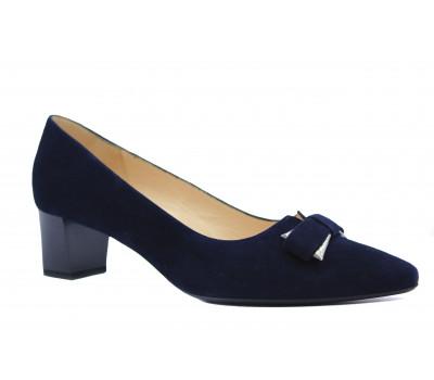 Туфли Peter Kaiser замшевые темно-синие 47857-983