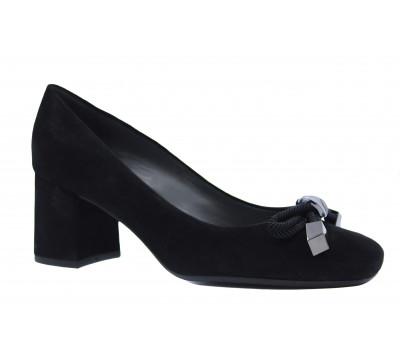 Туфли Peter Kaiser замшевые черные 54847-240