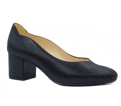 Туфли Peter Kaiser из крека черные 61831-127