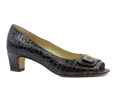 Туфли Peter Kaiser из лакированной кожи коричневые 49767-008