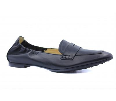 Туфли Hogl черные кожаные 5-100510